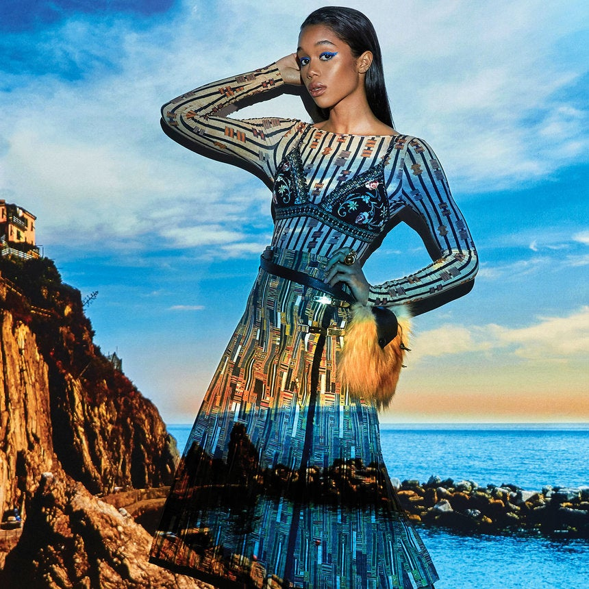 'Spider-Man: Homecoming' Actress Laura Harrier is the Next Worldwide Style Star